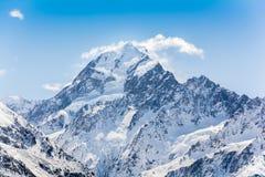 góra kucbarska nowe Zelandii Zdjęcia Royalty Free