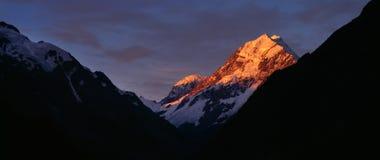 góra kucbarski zmierzch Fotografia Stock
