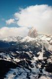 góra lasowy śnieg Zdjęcie Stock