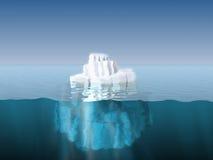 góra lodowa Ilustracja Wektor