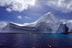 góra lodowa antarctic Obrazy Royalty Free