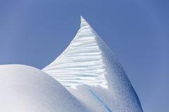 Góra lodowa blisko St Anthony, wodołaz fotografia royalty free