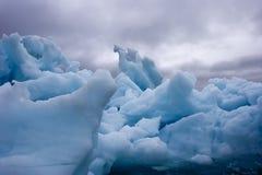 góra lodowa burzowa Fotografia Stock