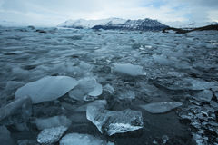 Góra lodowa Iceland Obrazy Stock