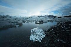 Góra lodowa Iceland Zdjęcie Stock