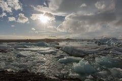 Góra lodowa Iceland Obraz Stock