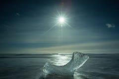 Góra lodowa Iceland Fotografia Stock