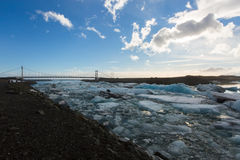 Góra lodowa Iceland Obraz Royalty Free