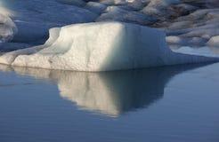 góra lodowa Iceland j kulsarlon Zdjęcie Royalty Free