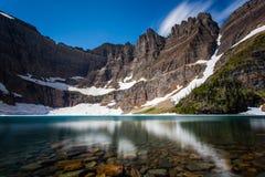 Góra lodowa jezioro obraz stock
