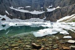 Góra lodowa jezioro Fotografia Royalty Free