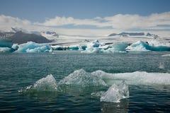góra lodowa jokulsarlon obraz royalty free