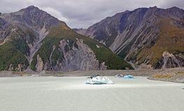 Góra lodowa na Tasman jeziorze Zdjęcie Royalty Free