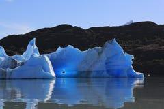 Góra lodowa od upsala Zdjęcia Royalty Free