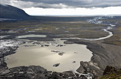 góra lodowa stapianie Zdjęcia Royalty Free