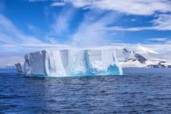 Góra lodowa w Antarctica Landscape-2 Zdjęcie Royalty Free