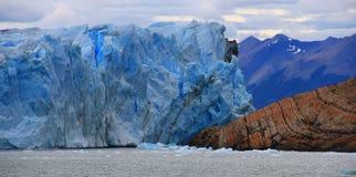 Góra lodowa w El Calafate Zdjęcie Stock
