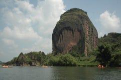 Góra Longhu, Yingtan, Jiangxi Zdjęcie Stock