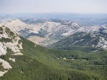 Góra lovcen, Montenegro, Europe, widok Zdjęcie Royalty Free