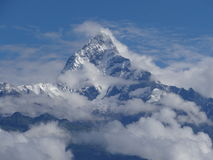 Góra Machhapuchhre Zdjęcia Stock