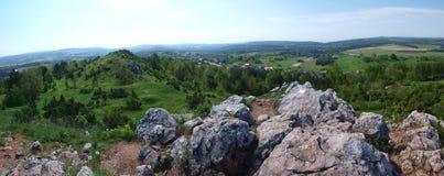 Góra Miedzianka, Polska Fotografia Stock