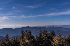 Góra Mitchell, Pólnocna Karolina obrazy stock
