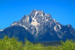 Góra Moran Uroczysty Tetons Zdjęcia Royalty Free