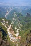 góra nadziemski widok Zdjęcia Royalty Free