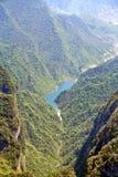 góra nadziemski widok Fotografia Royalty Free