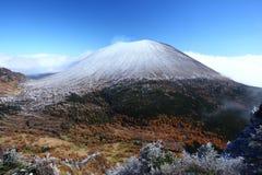 góra nakrywający śnieg Obrazy Royalty Free