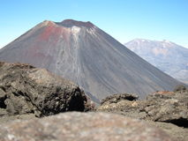 Góra Ngauruhoe Obrazy Royalty Free