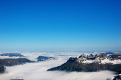 góra śnieg Fotografia Stock