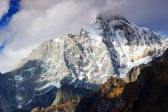 góra śnieg zdjęcie stock