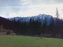 góra śniegu Zdjęcie Stock