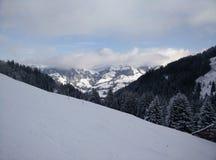 góra śniegu Obraz Stock