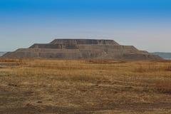 Góra odpady skała w kształcie ostrosłup Obrazy Stock