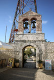Góra Pantokrator, Corfu, Grecja Obraz Royalty Free