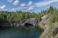 Góra park Obraz Stock