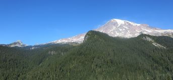 Góra parka narodowego Dżdżysty stan washington Stany Zjednoczone fotografia royalty free