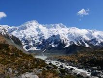 Góra podczas spaceru Mt kucharz Zdjęcie Royalty Free