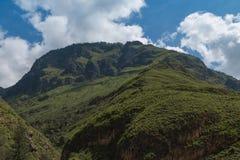 Góra przy Bhutan Zdjęcie Royalty Free