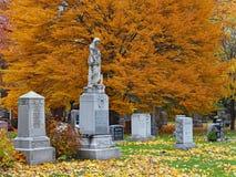 Góra Przyjemny cmentarz w Toronto obraz stock