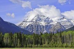 Góra Robson Zdjęcia Stock