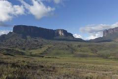 Góra Roraima Tepui i Kukenan fotografia stock