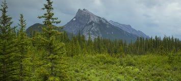 Góra Rundle Zdjęcie Stock