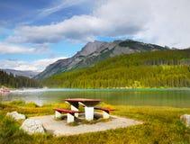 Góra Rundle, Banff park narodowy Zdjęcia Royalty Free