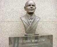 GÓRA RUSHMORE, POŁUDNIOWY DAKOTA OKOŁO CZERWIEC 2005 -: Gutzon Borglum s Obrazy Stock
