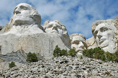 Góra Rushmore 3 południa Dakota Obraz Royalty Free