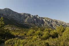 Góra Sainte Victoire Obraz Royalty Free
