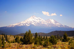 Góra Shasta Zdjęcie Stock